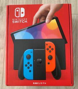 Nintendo Switch 有機ELモデル ニンテンドースイッチ本体 ネオンブルー ネオンレッド Switch本体