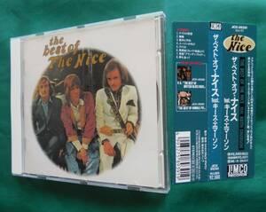 音018 ザ・ベスト・オブ・ナイスfeat.キース・エマーソン 1994年日本盤CD 全8曲(45:34) the best of nice  ジムコジャパン