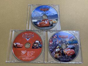 C29 カーズ 1 2 3 (クロスロード) DVDセット 新品 未再生 正規品 ディズニー MovieNEX Disney DVDのみ (純正ケース/Blu-ray/Magicコード無)
