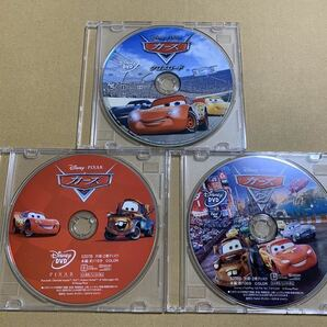 C21 カーズ 1 2 3 (クロスロード) DVDセット 新品 未再生 正規品 ディズニー MovieNEX Disney DVDのみ (純正ケース/Blu-ray/Magicコード無)