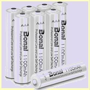 ☆★即決歓迎★☆新品☆未使用★ 単4形 BONAI S-HY 環境友好タイプ(高容量1100mAh 約1200回使用可能) 充電式電池 ニッケル水素電池