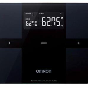 【新品未開封】オムロン 体組成計 体重計 ブラック HBF-255T スマホ連携 アプリ OMRON カラダスキャン