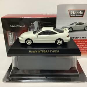 1/64 京商 ホンダインテグラ タイプR 白 INTEGRA Type R DC2 ホンダ ミニカーコレクション