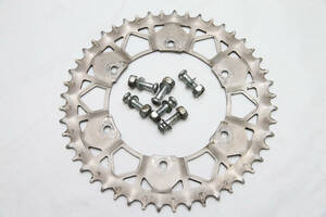 [ used ] Yamaha WR250R Sunstar . road system tooth stain z rear sprocket stainless steel 48T bolt attaching