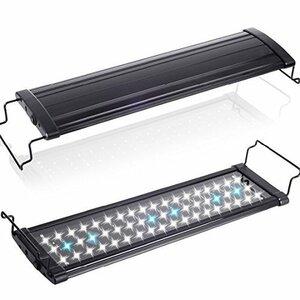 黒 超白光900(14w) [MEOW MARKET]アクアリウムライト フラット LED ランプ LED900 14w 90