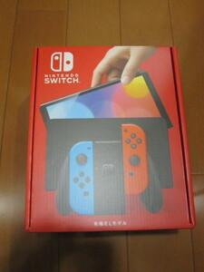 送料無料 即決 新品未開封 Nintendo Switch 有機ELモデル Joy-Con(L)ネオンブルー/(R)ネオンレッド