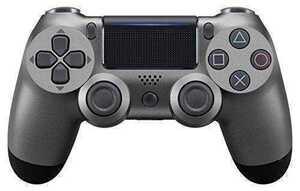 最新版 PS4 ワイヤレスコントローラー メタリックブラック Playstation4 プレステ4 互換品 多機能 DOUBLESHOCK4 新品未使用