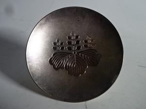 純銀製 造幣局刻印有 盃 45.7g つぶし