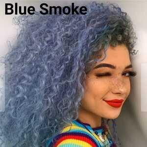 【Blue Smoke】スチールブルー ユニコーンヘアカラー ライムクライム lime crime