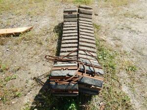 クボタ 建機 RX 306 CAT 030SR 鉄キャタピラ ゴムパッド付 0.1 3tクラス