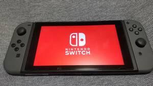 ☆送料無料 Nintendo Switch ニンテンドースイッチ 本体 グレー ☆