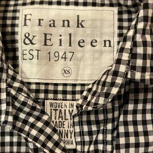 フランク&アイリーン☆ブロックチェックシャツ☆極美品です♪オシャレ☆