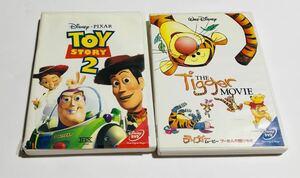 トイストーリー2 ティガームービー DVDセット ディズニー パッケージに難あり