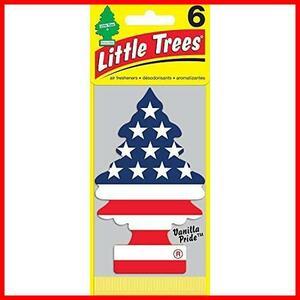 新品♭Little Trees リトルツリー エアフレッシュナー 芳香剤 バニラプライド 6枚組 [並行輸入品]