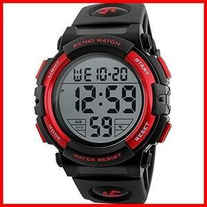 ★即決★★バンド色:ブラック★ メンズ 防水腕時計 Timever(タイムエバー)デジタル腕時計 MM-27 led watch スポーツウォッチ アラーム