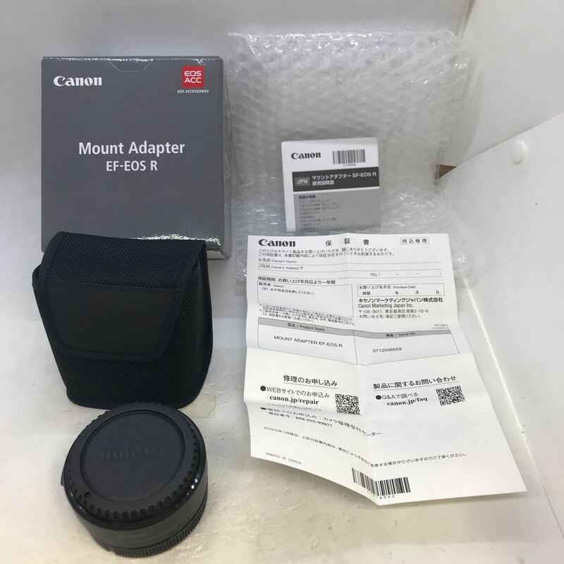★新品同様★安心初期不良対応★ キヤノン Canon マウントアダプター Mount Adapter EF-EOS R