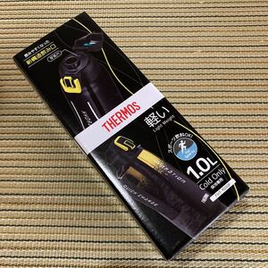 新品 サーモス 水筒 真空断熱 スポーツボトル 1リットル 黒
