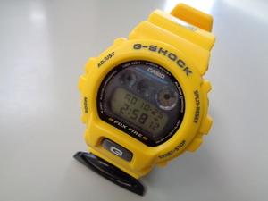 美品 動作確認済 CASIO G-SHOCK FOX FIRE thrasher DW-6900H-9 カシオ フォックスファイヤー スラッシャー G-ショック 黄 イエロー