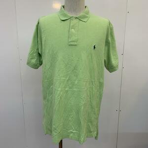 POLO RALPH LAUREN L ポロラルフローレン ポロシャツ 半袖 無地 ワンポイント Polo Shirt 黄緑 / イエローグリーン / 10025684