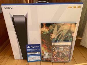 新品未使用 PlayStation 5メーカー品番:CFI-1000A01 プレイステーション5 鬼滅の刃ヒノカミ血風譚セット