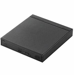 新品未開封 LDR-PS8WU2RBK(ブラック) USB2.0接続 スマホ・タブレット用 ワイヤレスCD 録音ドライブ ロジテック 外付け DVDドライブ