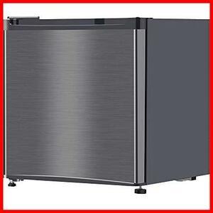 ★色:1)46Lガンメタリック★ 冷蔵庫 46L 小型 一人暮らし 1ドアミニ冷蔵庫 右開き コンパクト ガンメタリック MAXZEN JR046ML01GM