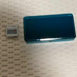 「ニンテンドー3DS ライトブルー」任天堂 マリオカート7 カセット