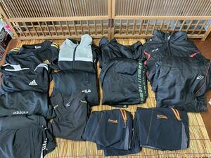 スポーツウエア まとめて adidas champion ssk エスエスケー DESCENTE (デサント) FILA ウィンドブレーカー ジャージ 大量 Mサイズ ナイキ