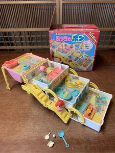 希少! レア こえだちゃん おかいものマンション おうちがポン 当時物 昭和レトロ 人形 旧タカラ 1985年 昭和レトロ 箱あり