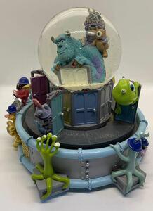 モンスターズ・インク スノードーム グローブ ピクサー ディズニー当時物 ウッディ バズマイクサリーMonsters, Inc.トイストーリー