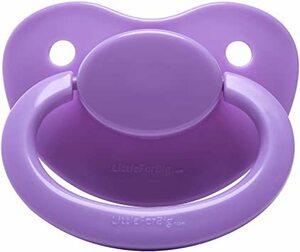 ライトパープル Free LittleForBig 大人用おしゃぶり 【ママの乳首を再現】ライトパープル