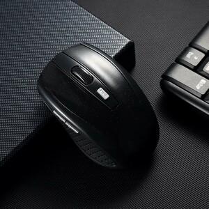 完全ワイヤレスマウス 無線マウス ボタンを調整可能 ワイヤレス 小型 高感度 持ち運び便