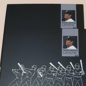 松井秀喜 記念切手 切手帳 コレクション 2冊セット 80円20枚 1,600円分