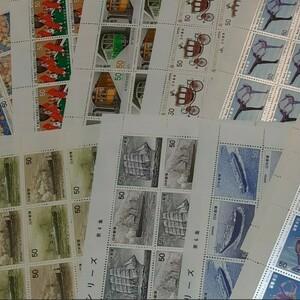 記念切手 コレクション 1,800円分 全て50円切手 同時購入同梱発送で170円分サービス