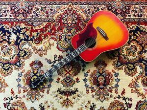 貴重 ASK 1970年代 Chaki W-3 HummingBird CountryWestern Gibson チャキ ギブソン ピックアップ搭載 ハミングバード カントリーウェスタン