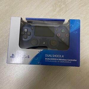 PS4 ワイヤレスコントローラー 純正 ミッドナイト・ブルー