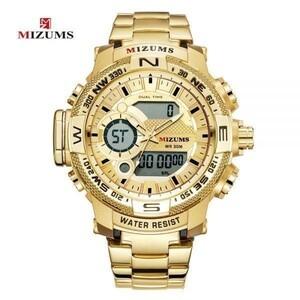 全品値下げ!!MIZUMS 高級 メンズ LED デジタルクォーツ 腕時計 男性軍ミリタリースポーツ防水日付カレンダー 選べる4色