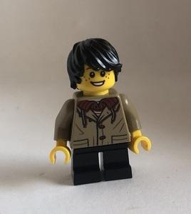 即決 新品 未使用 レゴ LEGO ミニフィグ シティ ミニフィギュア パーカーの男の子