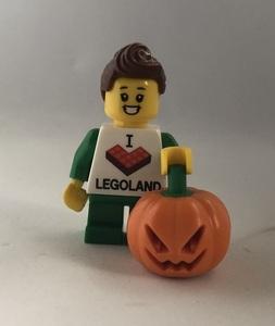 即決 未使用 レゴ LEGO ミニフィグ シティ ミニフィギュア カボチャ パンプキンと女の子 ハロウィン ジャック・オー・ランタン