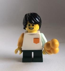 即決 新品 未使用 レゴ LEGO ミニフィグ ミニフィギュア シティ アイスクリームと男の子 子ども