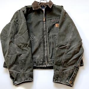 Carhartt カーハート/ダックジャケット/ブラック/黒/XL/USA製