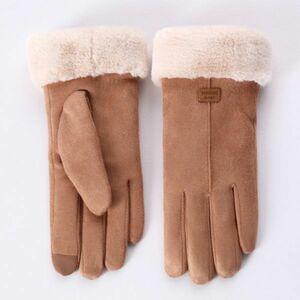 ◆1円~ 最安◆クラシック レディース ファッション 冬 屋外 スポーツ 暖かい 手袋 ミトン 無地 エレガント グローブ 女性 レディース