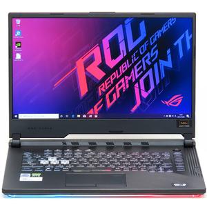 美品 ゲーミングPC 中古 ノートパソコン ASUS ROG Strix G15 G512LV Core i7 10750H 16GB SSD 512GB RTX2060 Windows10 15インチ