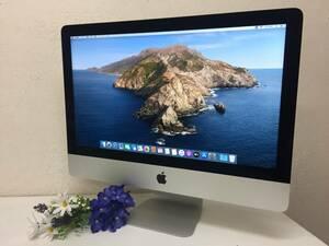 【良品 21.5インチ】 Apple iMac(21.5-inch 2017) A1418 Core i5(7360U)/2.3GHz RAM:8GB/HDD:1000GB Catalina 動作品