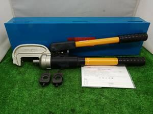 中古品 IZUMI 泉精器 イズミ 手動 油圧式 圧着工具 EP-365