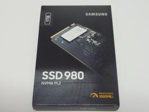 Samsung SSD 980 NVMe M.2Type2280 MZ-V8V1T0B/IT 1TB 未開封 未使用品です