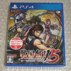 PS4 戦国無双5 通常版 未開封品