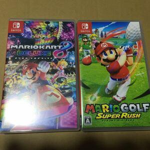 【Switch】 マリオカート8 デラックス マリオゴルフ