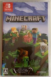 【未開封】 マインクラフト Minecraft Nintendo Switch ニンテンドースイッチソフト