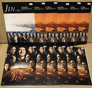 JIN-仁- 全6巻&JIN-仁- 完結編 全6巻 レンタル DVD 計12卷